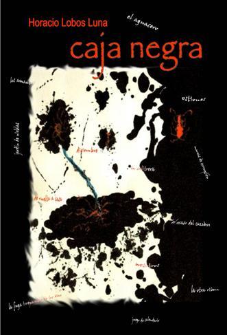 "Portada ""Caja Negra"" (cuentos), Horacio Lobos Luna.  Ed. 2008"