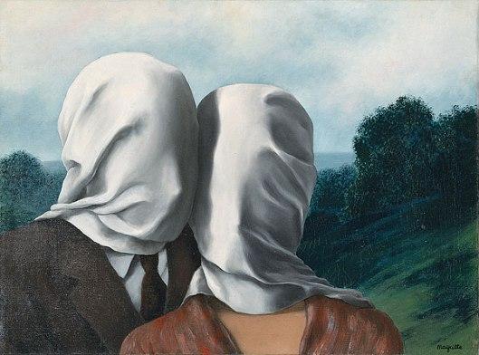 """René Magritte. """"Les Amants"""""""