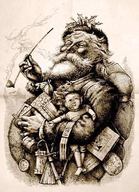 thomas-nast-merry-old-santa-claus