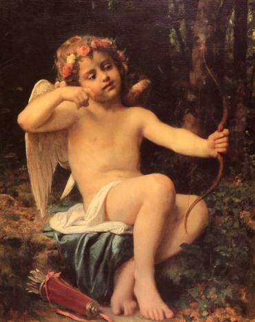 Leon Jean Basile Perrault. Las  flechas de Cupido.