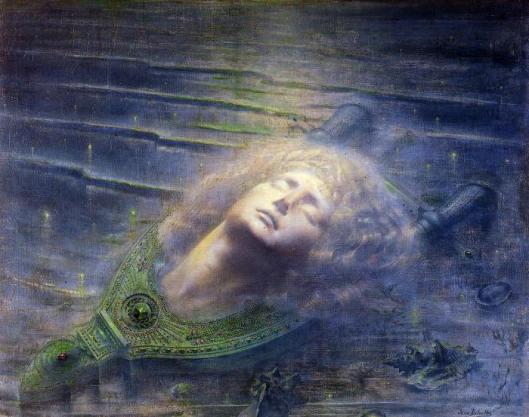 Orfeo. Jean Deville 1893