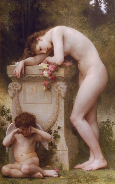 "William-Adolphe Bouguereau - ""Elegy"""