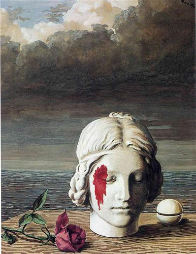 "Rene Magritte. ""La memoria"""