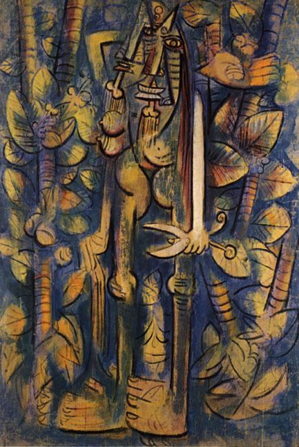 Wildredo Lam. La jungla
