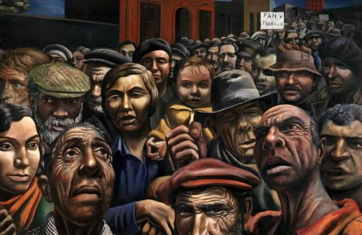 "Antonio Berni. ""Manifestación""."
