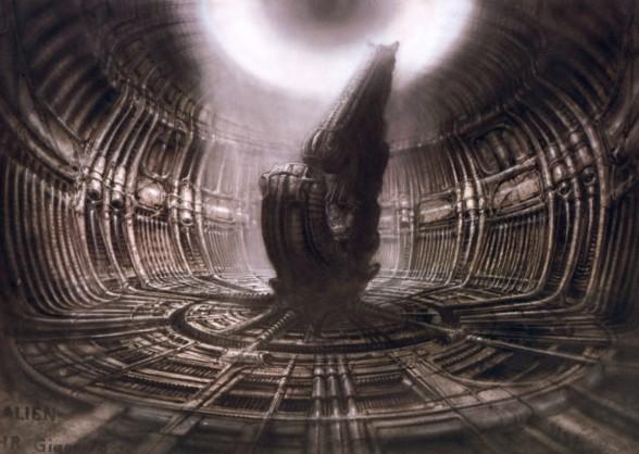H.R. Giger. Alien