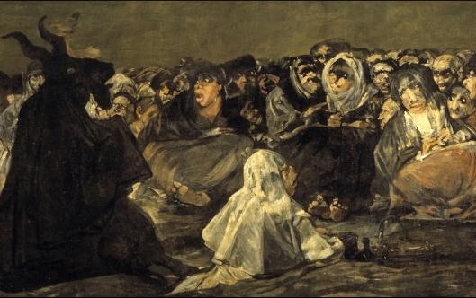 """Goya. """"El aquelarre"""" (fragmento)"""