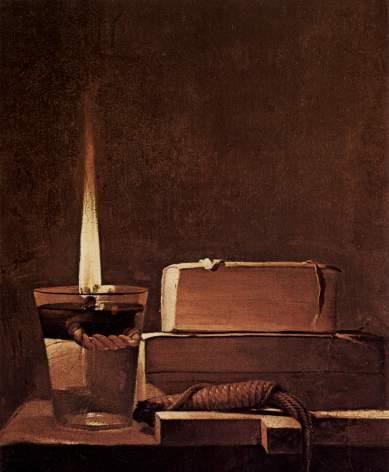 "Georges de la Tour. ""Madeleine Terff"" (fragmento)"
