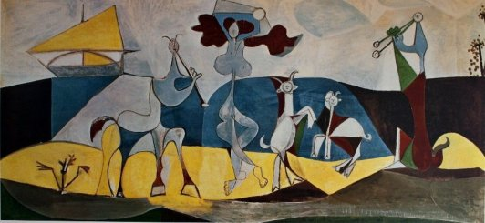 """Picasso. """"La alegría de vivir"""""""