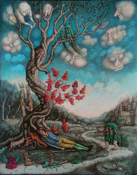 Tanya Miller. Life Forest