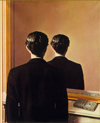 "Rene Magritte. ""La reproduction interdite"""