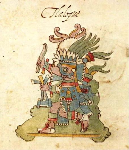 """Tlaloc"". Codex Ríos."